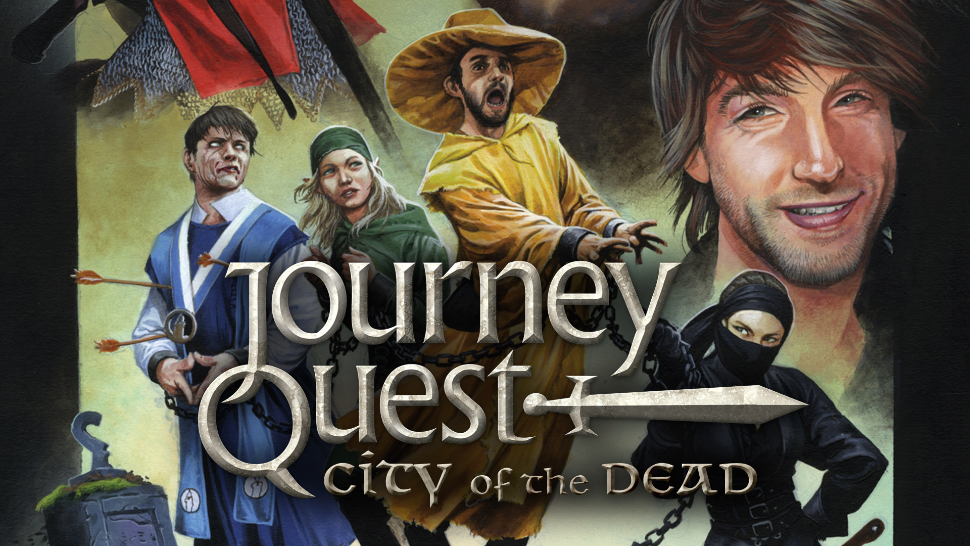 JourneyQuest 2 City of the Dead