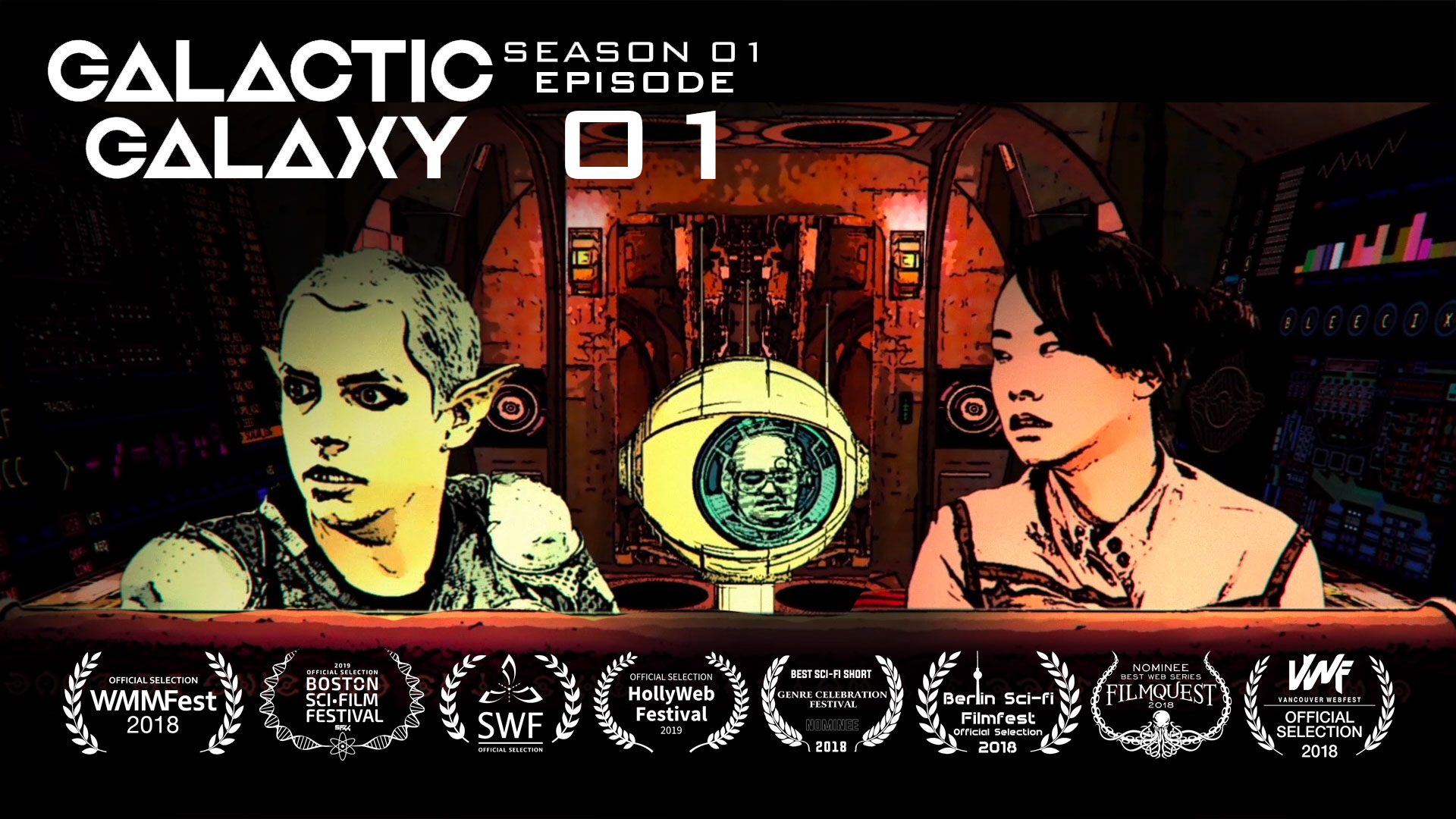Galactic Galaxy 01: The Journey of a Thousand Parsecs