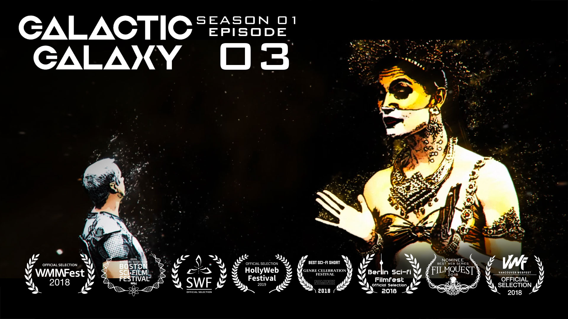 Galactic Galaxy Episode 3: The Interplanetary Federation Female Force