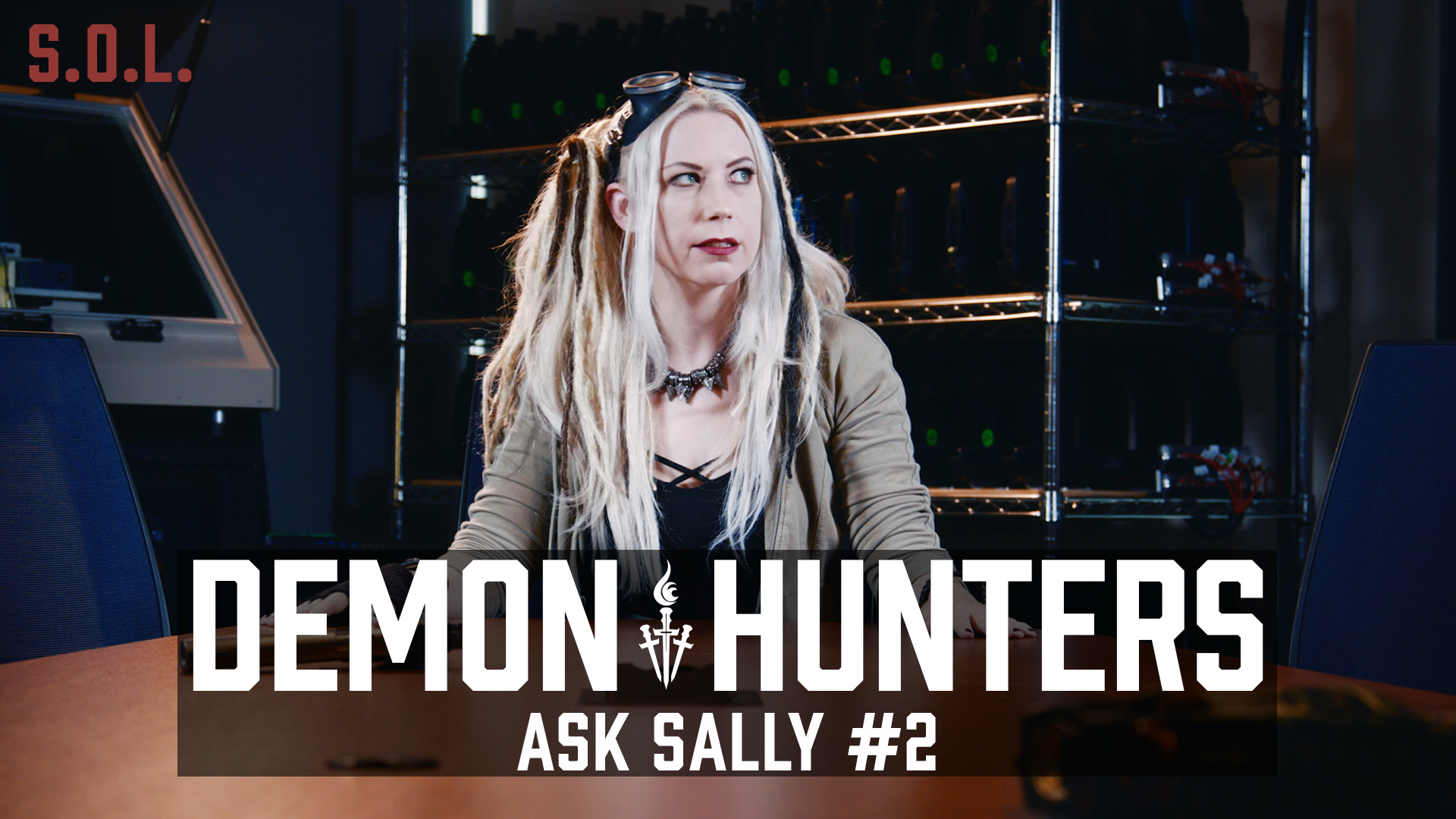 Demon Hunters: Ask Sally Question No 2